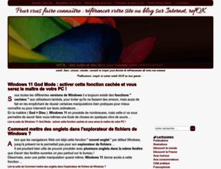 referencer.unesourisetmoi.info screenshot