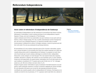 referendumindependencia.cat screenshot