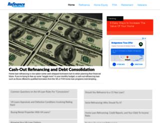 refinanceloanrate.com screenshot