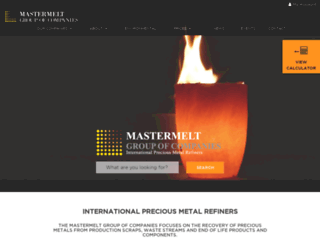 refining.mastermeltgroup.com screenshot