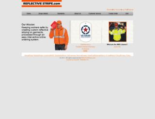 reflectivestripe.com screenshot