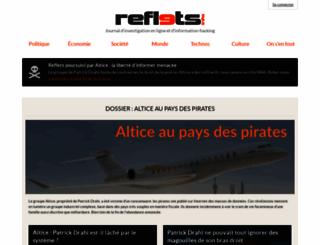 reflets.info screenshot