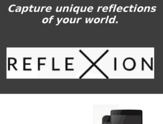 reflexionapp.com screenshot