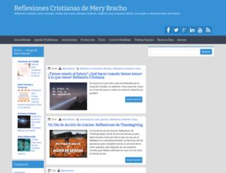 reflexionesmerybracho.blogspot.co.uk screenshot