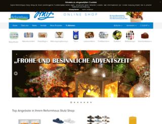 reformhaus-stutz.de screenshot