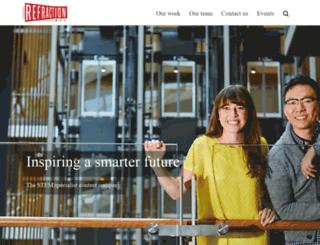 refractionmedia.com.au screenshot