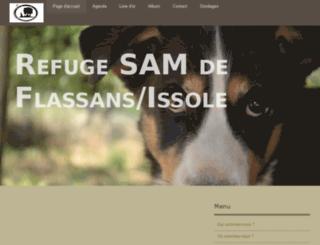 refuge-sam-de-flassans-issole.e-monsite.com screenshot