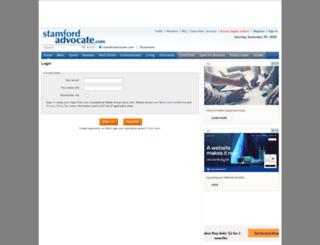 reg.stamfordadvocate.com screenshot