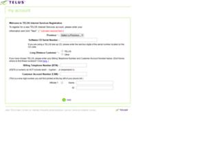reg1.telus.net screenshot