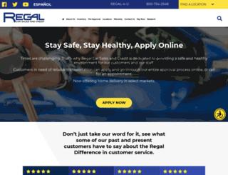 regalcars.com screenshot