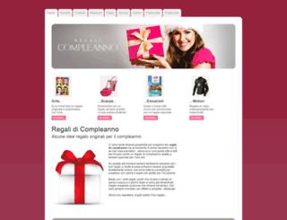 regalicompleanno.net screenshot