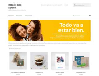 regalosparasonreir.com screenshot