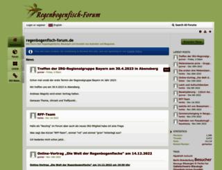 regenbogenfisch-forum.de screenshot