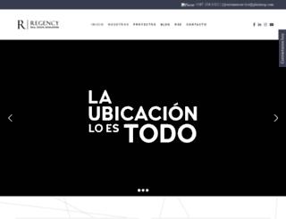 regency.com.pa screenshot