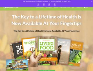 regenerateyourlife.org screenshot