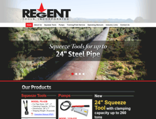 regenttools.com screenshot