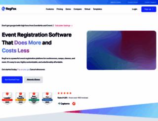 regfox.com screenshot
