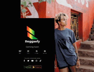 reggaefy.com screenshot