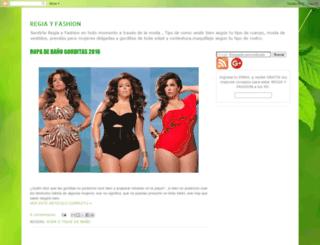 regiayfashion.blogspot.com screenshot