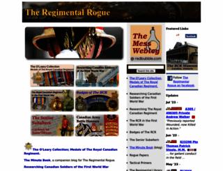 regimentalrogue.com screenshot