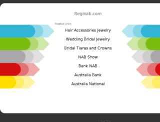 reginab.com screenshot