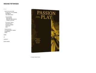 reginepetersen.com screenshot