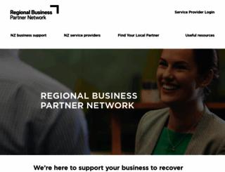 regionalbusinesspartners.co.nz screenshot
