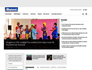 regionaldelsur.com screenshot