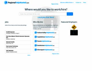 regionalhelpwanted.com screenshot