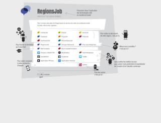 regionsjob.droitissimo.com screenshot