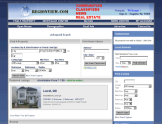 regionview.com screenshot