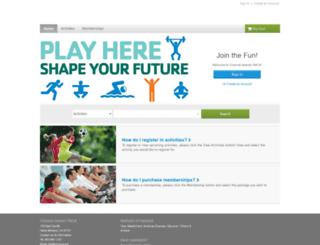 register.ciymca.org screenshot