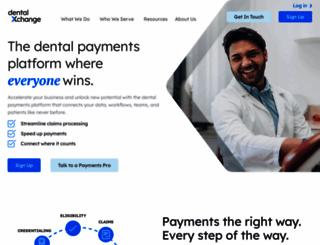 register.dentalxchange.com screenshot
