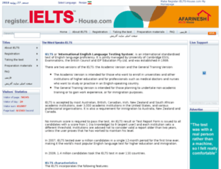 register.ielts-house.com screenshot