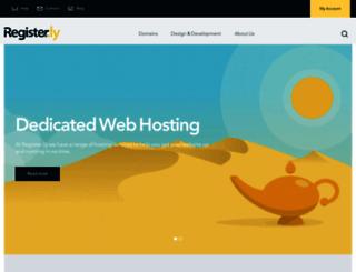 register.ly screenshot