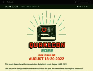 registration.quakecon.org screenshot