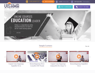 registration.vishwa.co.in screenshot