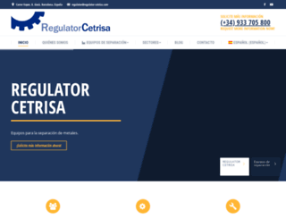 regulator-cetrisa.com screenshot