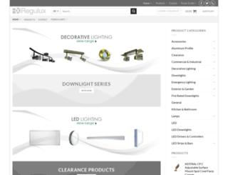 regulux.co.uk screenshot