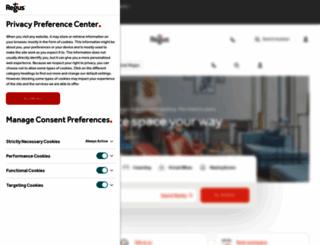 regus.ru screenshot