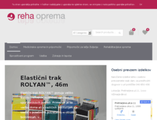 reha-oprema.com screenshot