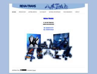 reha-trans.fr screenshot