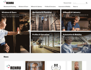 rehau.com screenshot