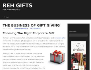 rehgifts.com screenshot
