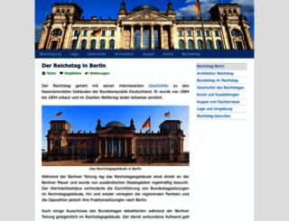 reichstagberlin.net screenshot