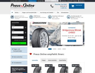 reifen-pneus-online.lu screenshot