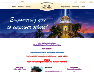 reiki.org screenshot