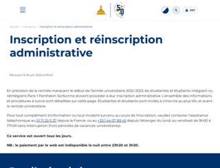 reins.univ-paris1.fr screenshot