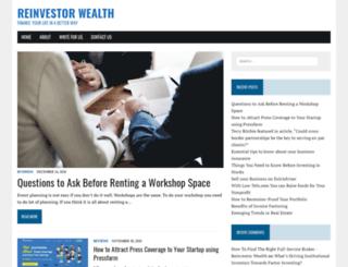 reinvestorwealth.com screenshot