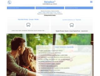 reisebus.pl screenshot
